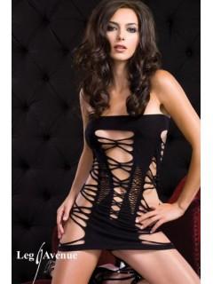 Mini robe ajourée BLACKLIGHT
